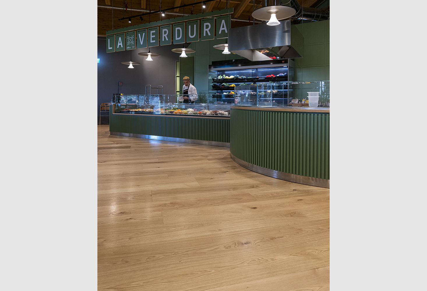 '500, European Oak Rusticone, brushed unfinished Maxi, European Oak Rusticone, brushed unfinished