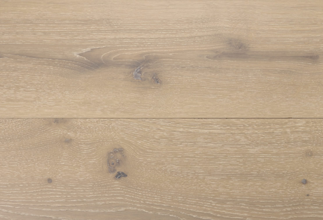 rovere spazzolato morciato verniciato sabbia