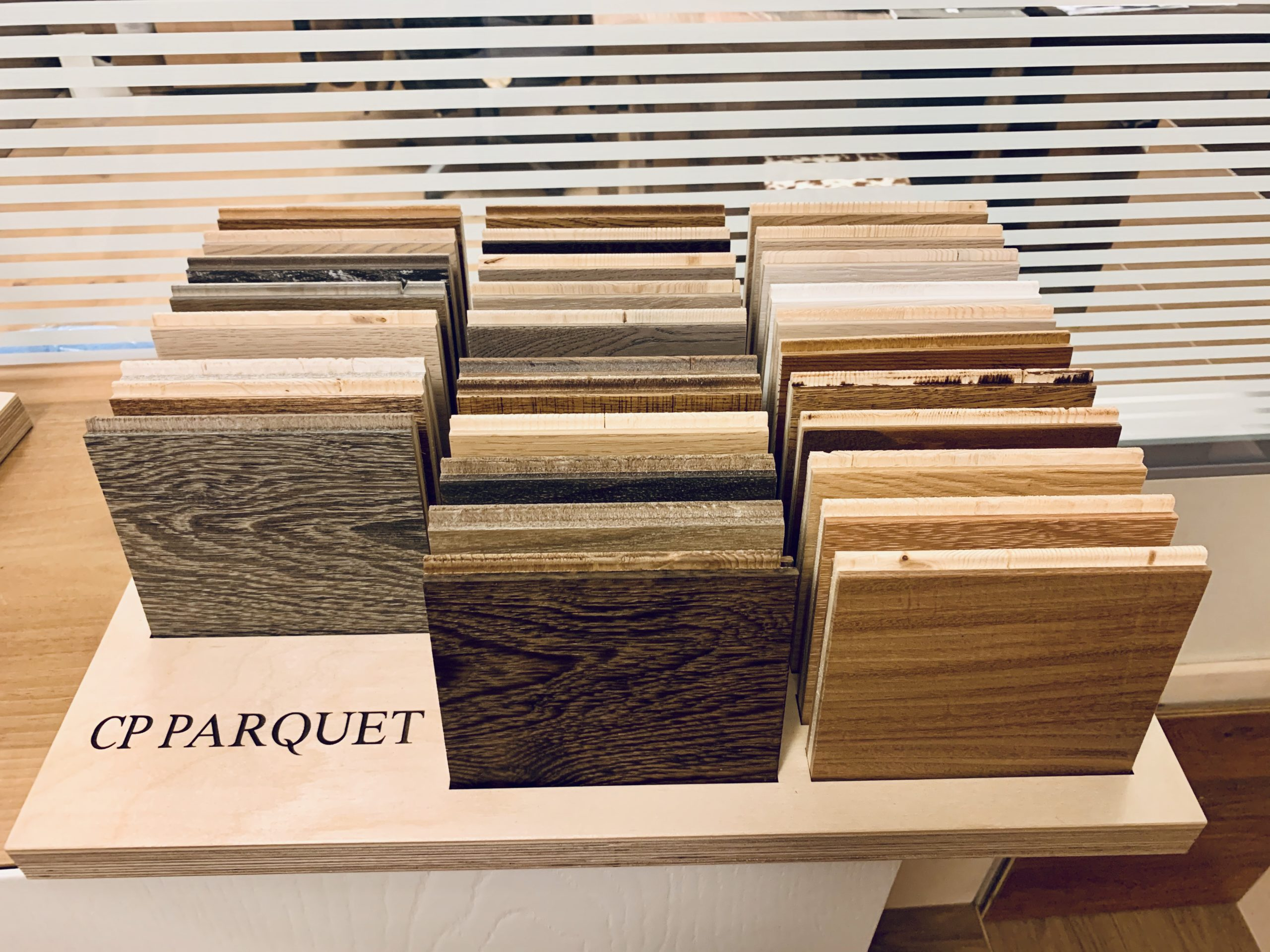 Sample finishes CP Parquet