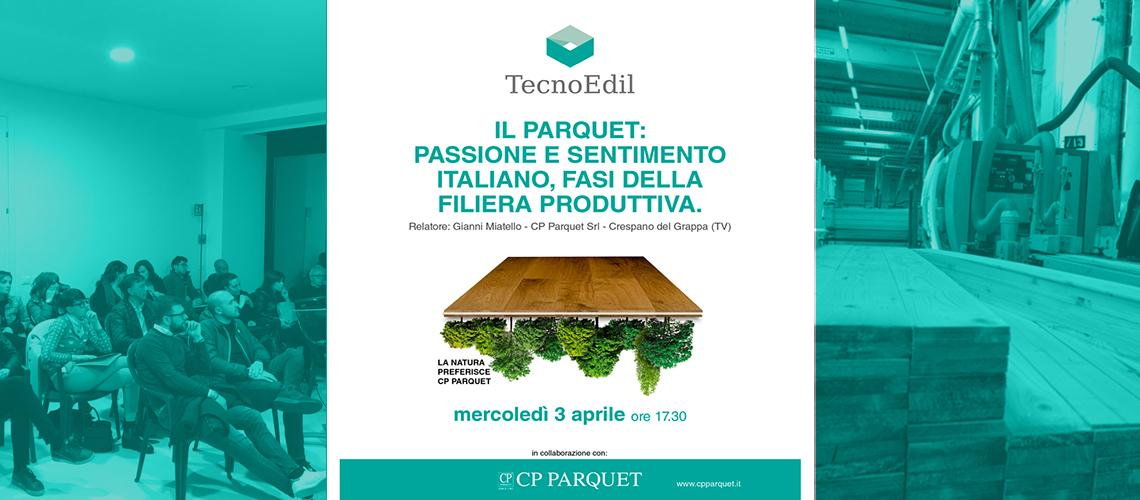 CP Parquet ospite di Tecnoedil, Avezzano, Italia