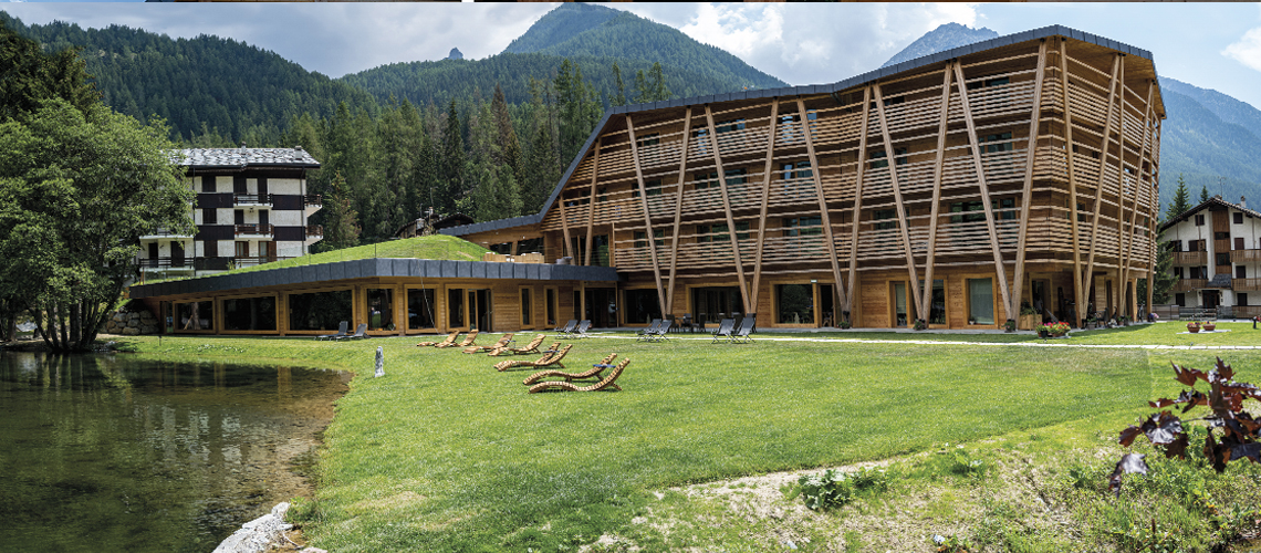 CP Parquet per l'Eco-Hotel Au Charmant Petit Lac, Champoluc, Italia