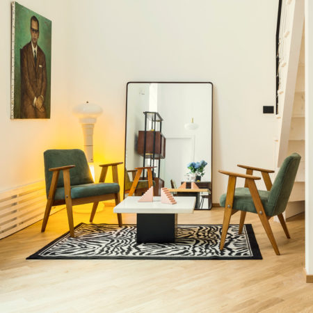 parquet Matita collection, European Oak Select, brushed varnished