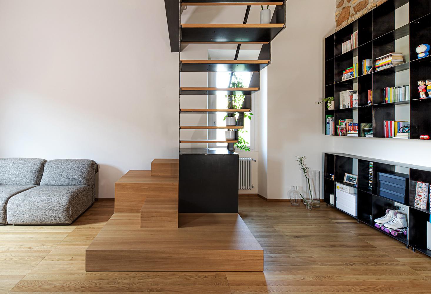parquet Matita collection, European Oak Select,brushed varnished