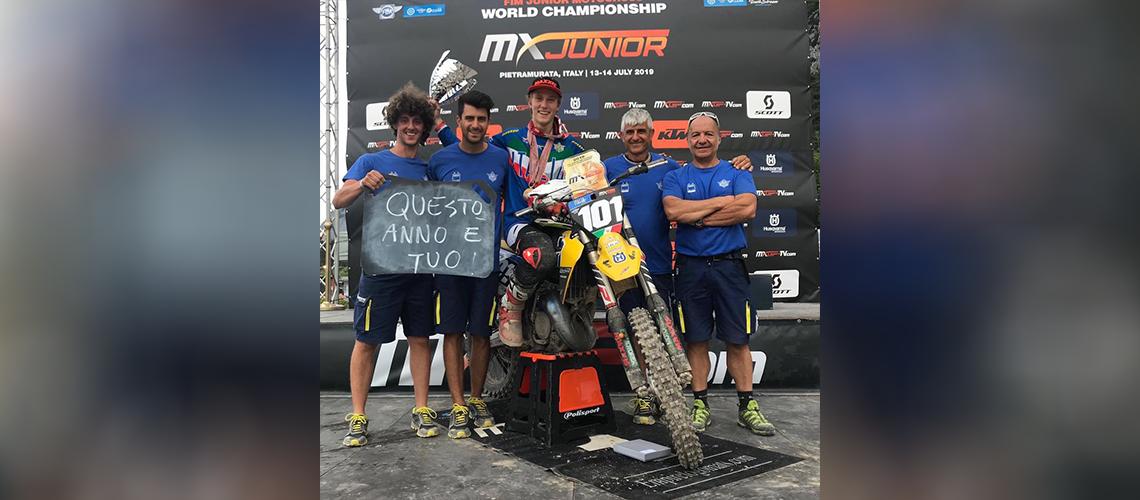 Mattia Guadagnini è campione del mondo