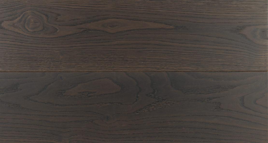 Burnished oak varnished oiled
