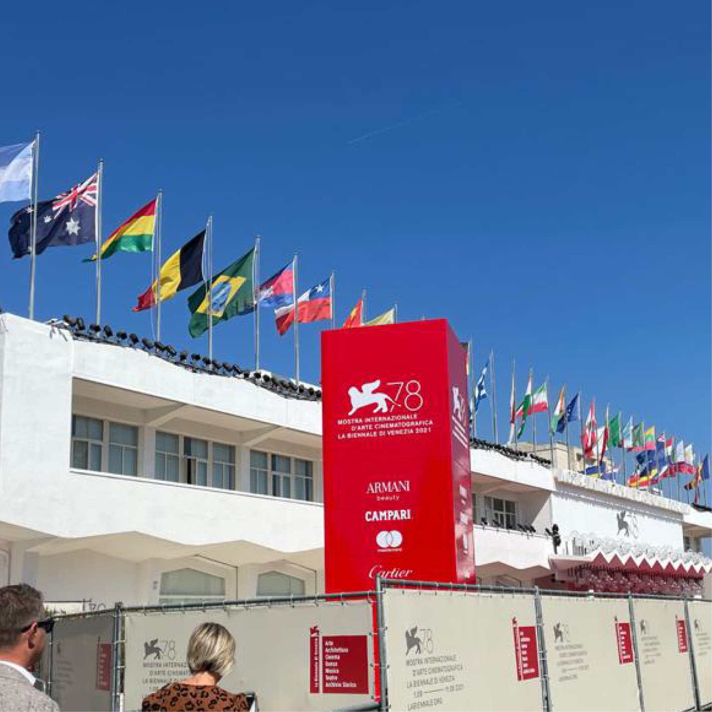 """CP Parquet with """"INTERIOR-DOC"""" at the 78th Venice International Film Festival"""